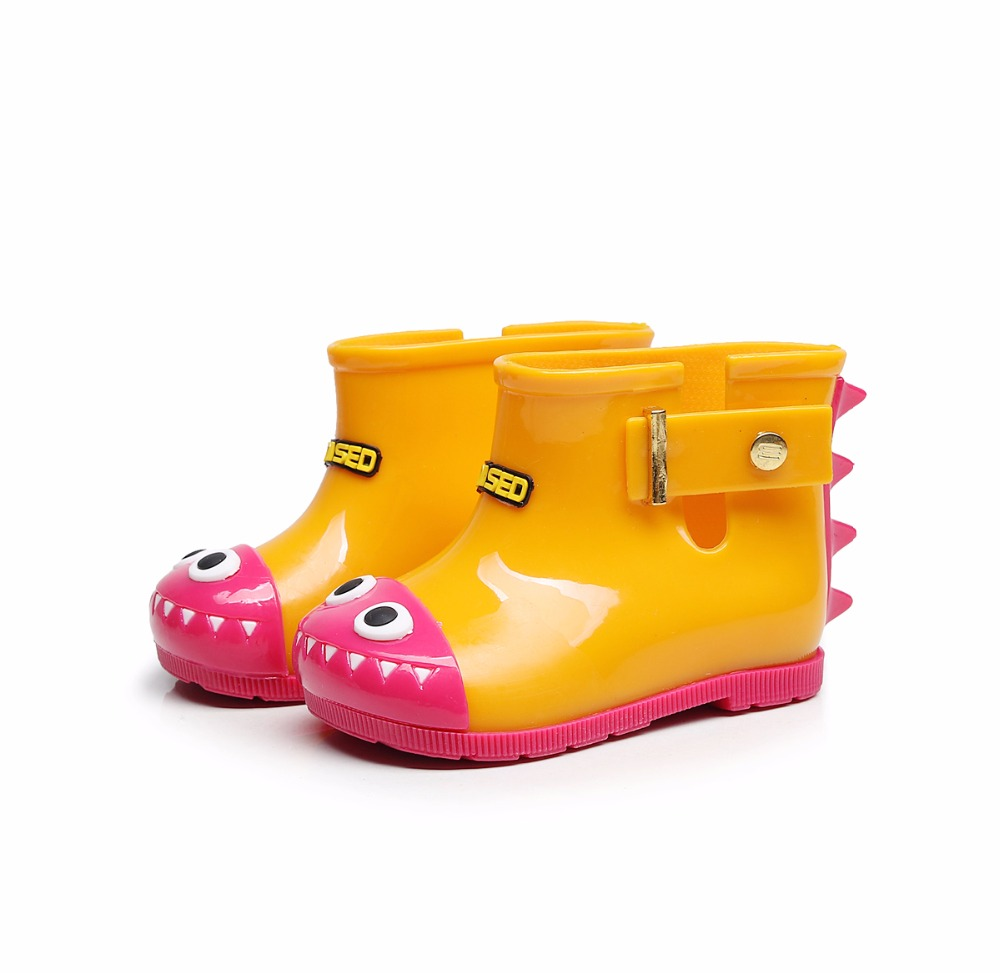 Cute Girls Rain Boots Shoes Baby boys Jelly Shoes ANTI ...