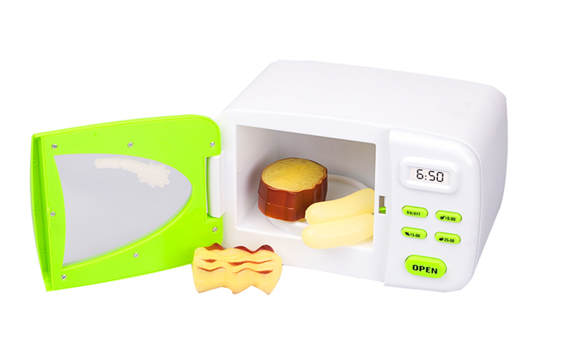 DA XIN Children Pretend Role Play House Toy Mini Kitchen Toys Cute Microwave Oven Toy Early Development and Education Toy in Kitchen Toys from Toys Hobbies