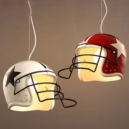 Loft Style Vintage Pendant Light Contracted Pendant Lamp Personality Helmet Pendant Light Creative Bar Art Deco Lighting