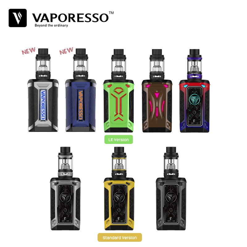 Vaporesso Switcher 220W TC Box Mod Vape Electronique Cigarette Kit 5ML NRG Tank Vaper Eletronic Hookah Vaporizer E-Cigarettes