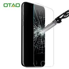 Otao для iphone 7 6 6s плюс 5 5S se apple 4 4S Чехол Закаленное Стекло Экрана Протектор 9 H Фильм HD Закаленное Защитная 4 ШТ.