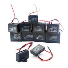 1 шт. CBB61 начиная с постоянной ёмкости, универсальный конденсатор переменного тока конденсатор вентилятора 450V CBB мотор hjxrhgal Run конденсатор с алюминиевой крышкой, 1 мкФ 1,2 мкФ 1,5 мкФ 2 мкФ 2,5 мкФ 3 мкФ 3,5 мкФ 4 мкФ
