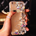 Cristal pérola caso de telefone celular 3d cover para iphone 7 6 6 s mais 5 5S se 5c samsung galaxy note 7 5 s7 s6 edge plus s5/4/3 a8/7/5