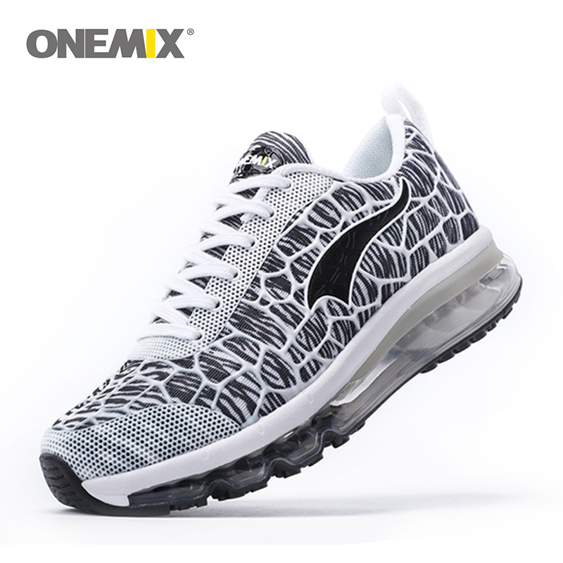 Onemix 2018 Damping Mens Running Shoes Breathable Outdoor Walking Sport Shoes New Mens Athletic Sport Sneakers size 39-46