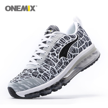 Onemix Damping Mens Running Shoes Breathable Outdoor Walking Sport Shoes New Mens Athletic Sport Sneakers size 39-46