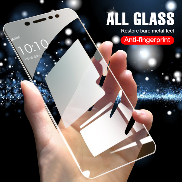 4pcs/Lot Explosion Proof Screen Protector For Huawei Ascend Honor 10 9 8 Lite 8X 7X 8C 8A 7C 7A Tempered Glass Film
