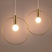 Loft Style Simple Modern LED Pendant Light Fixtures Vintage Industrial Lighting Dining Room Iron Hanging Lamp Indoor Lighting