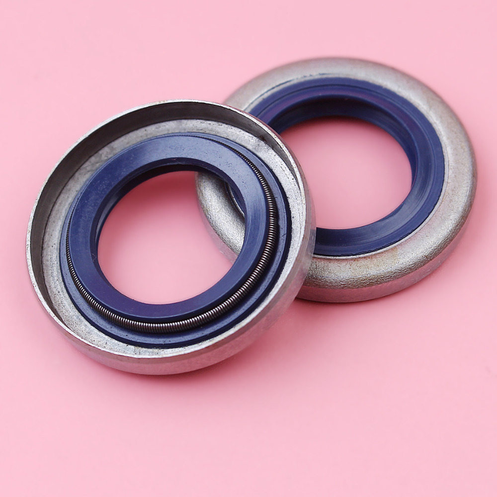 2pcs Crankshaft Crank Oil Seal For Husqvarna 51 55 254 257 262 357 359 Chainsaw Parts