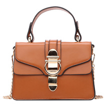 Badouqiu Fashion Brand Messenger Bags Women Flap PU Leather Shoulder With Buckle High Quality Hot Sale Crossbody A5