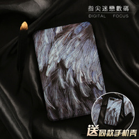 Cool Feather Magnet PU Leather Case Flip Cover For IPad Pro 9 7 10 5 Air