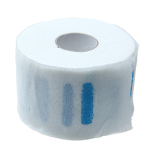 100pcs/roll Professional Stretchy Disposable Neck Paper Roll for Barber Salon Hairdressing Hair Styling Tools M02910