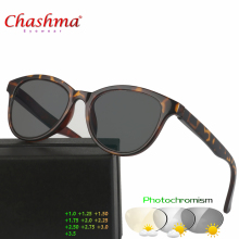 Chashma New Design Photochromic Reading Glasses Women Men Presbyopia Eyeglasses sunglasses discoloration with Diopters
