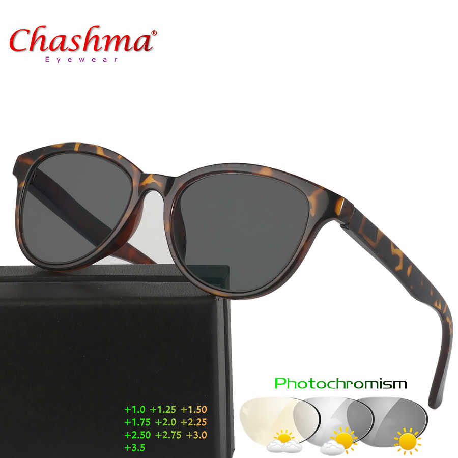 13befa36e326 Chashma New Design Photochromic Reading Glasses Women Men Presbyopia  Eyeglasses sunglasses discoloration with Diopters