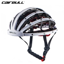 Nuevo cairbull 5 color plegable peso ligero Ciclismo MTB ultraligero Ciclismo casco Bicicletas capacete de bicicleta bici Casque