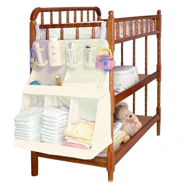 Bolsa para colgar cama de bebé impermeable 2019 cuna portátil bebé recién nacido pañales cama de tela de cama bolsa para niños ropa de cama organizador