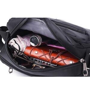 Image 5 - DECRJI 2020 Fashion Men Nylon Messenger Bag Waterproof Style Male Shoulder Crossbody Bags Designer High Quality Bolsa Masculina