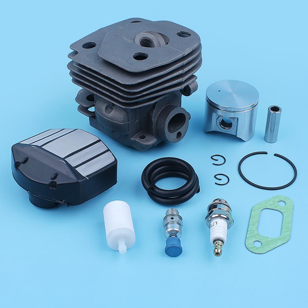CS Big EPA Kit Piston Chainsaw Port Jonsered Air Bore Gas Cylinder CS For Nikasil Line CS2156 Filter 47mm 2156 2159 Fuel CS2159