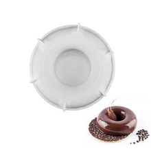 3D Silicone Doughnut Cake Mold For Baking Dressert Chocolate Mousse Doughnuts Tools