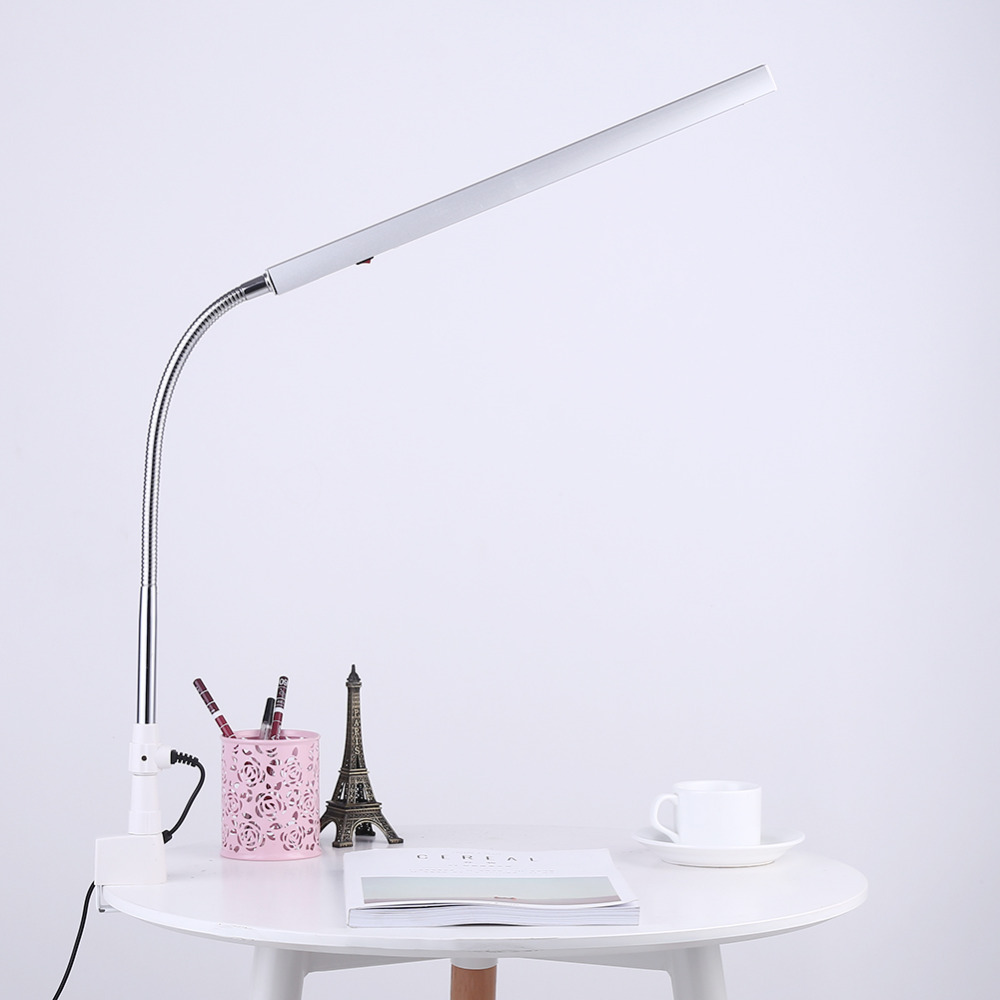 2018 Fashion Foldable Makeup Tattoo Desk Table Led Lamp Eye Care 3 Temporary Illuminator Ultra Slim Nail Art 360 Degree Rotation Metal Arm Caring