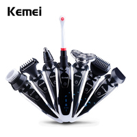 2016 Top Kemei 7 In 1 Men S Electric Shaver 3D Floating Rotary Electronic Shaving Machine