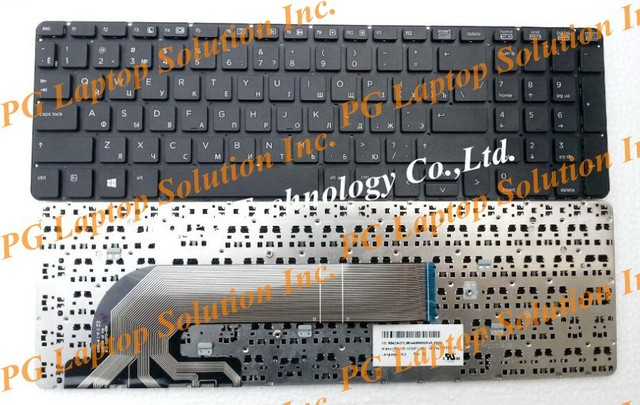NEW Russian keyboard for HP probook 450 g0 455 g1 470 g1 RU Keyboard Laptop Keyboard  SG-61300-XUA 6037B0088501