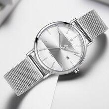 Couple watch NAVIFORCE Men Casual Dress Luxury Women Quartz Wristwatch Clock For