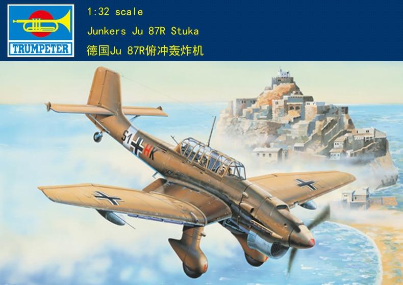 Trumpeter 03216 1//32 Junkers Ju 87R Stuka