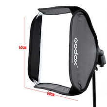 Godox 60cm x 60cm Softbox Bag Kit for Camera Studio Flash fit Bowens Elinchrom