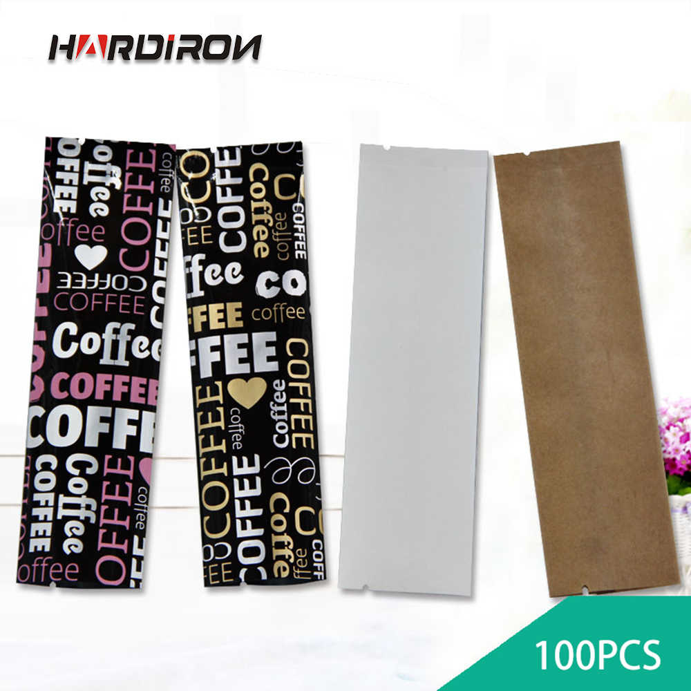 HARDIRON Thicken Various Sizes of Colorful Aluminum Foil Packaging Bag Coffee Milk Tea Flower Tea Fruit Powder Kraft Small Bag