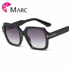 MARC 2019 Oversized Sunglasses for Women Brand Designer Retro Sun glasses Red Shades Eyewear sunglasses woman