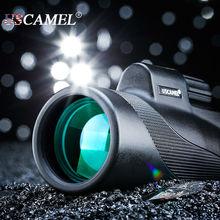 Compact chasse monoculaire professionnelle portée grande Vision pour observer les oiseaux 10x optique étanche télescope Zoom Scalable USCAMEL