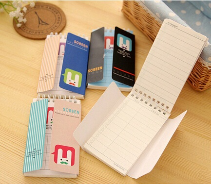 New Cute Cartoon Beard Rabbit series Mini noteBook/Memo/message post stick marker/label/free shipping/wholesale