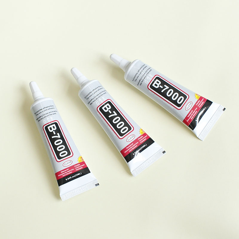1 pcs 25ml Best B-7000 Multi Purpose Glue Adhesive Epoxy Resin Diy Crafts Glass Touch Screen Cell Phone Super glue B7000 zhanlida t 7000 50ml epoxy resin black glue repair crack lampshade move the door shoes multi purpose t7000 glue gun page 6