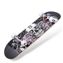 waveboard long skate Professional wooden skateboards longboard Maple Compressive Strength drift skateboard complete skate shape
