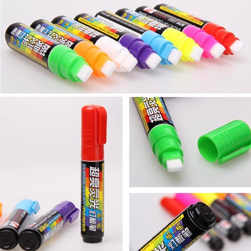 Chalk Markers With Reversible 6 Mm 10mm