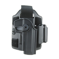 Tactical gun holster with Leg panel Holster for Beretta M92 Airsoft IMI Rotary Holster+magazine carrier
