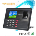 Good quality USB fingerprint time attendance time clock no need to connect with wire fingerprint and RFID card and password