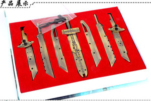 14 см Final Fantasy 7 FF7 в сборе, Комбинированный нож, оружие, модель, игрушки, коллекция вентиляторов, рождественский подарок, фигурка Косплей