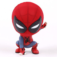 Marvel Spider Man Homecoming The Spiderman Q Version Mini PVC Figures Toys Car Home Decoration Doll 5 Styles 1