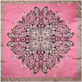 100% Silk Scarf Women Scarf Paisley Hijab Middle Square Silk Scarf 2017 Top Foulard Bandana Female Big Bandana Hot Gift for Lady