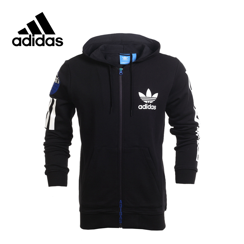 New Arrival 2017 Original Adidas Originals Men's jacket Hooded Sportswear original adidas originals women s jacket ab2096 sportswear free shipping