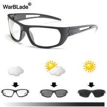 WarBLade Marca Fotocromáticas Óculos De Sol Óculos Polarizados Homens  óculos de Sol durante Todo o dia de Mudança de Cor Camaleã. 2c1199b55f