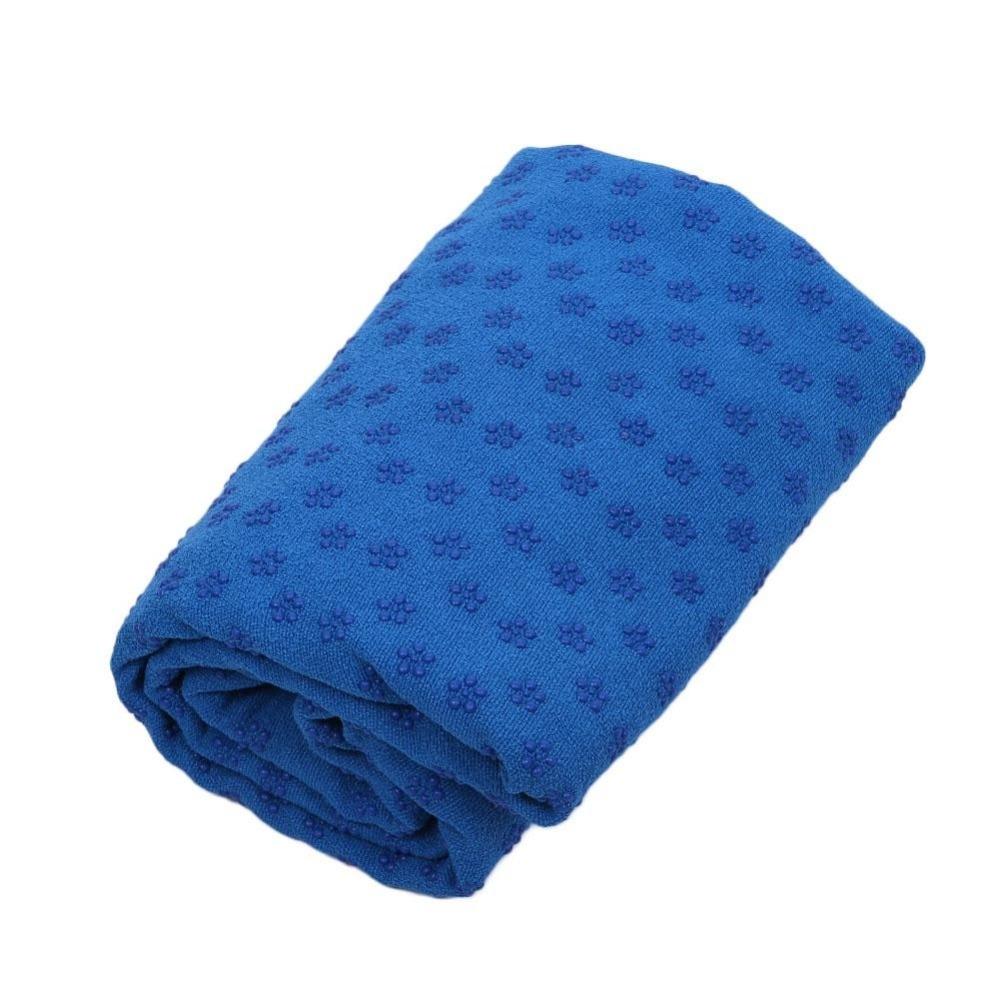 182*63 CM Non Slip Yoga Mat Cover Towel Anti Skid Microfiber Yoga ...