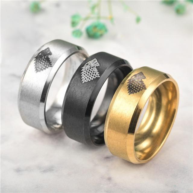 Direwolf Rings  2