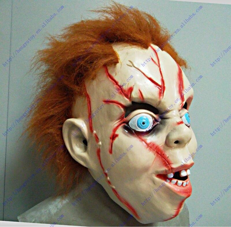 Halloween Creepy Scary CHUCKY Mask Latex Full Head Chidren Costume Mask