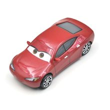 Disney Pixar Cars 3 Racing Center  Natalie Certain Metal Diecast Toy Car 1:55 Loose Brand New In Stock toys for children forces of valor fov diecast metal 81018 1 32 u s 6x6 1 5 ton cargo truck original boxed brand new in stock