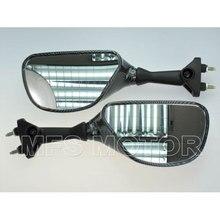 Motorcycle Black Rearview Mirrors For Kawasaki NINJA ZX6R 05 6 07 08 NINJA ZX10R 04 05 06 07 08 Carbon Motorcycle Parts