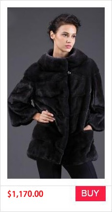REAL MINK FUR COAT WINTER WOMEN COAT (10)