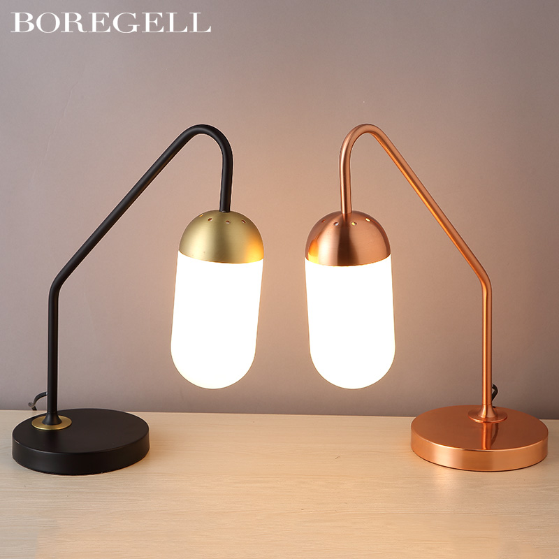 lamp decoration of bedroom the head of a bed reading lamp contracted fashion personality atmosphere Nordic desk lamp