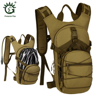 15L Water Bag, Molle Military Tactical Hydration Backpack, Outdoor Camping Camelback, Nylon Camel Water Bladder Bag For Cycling